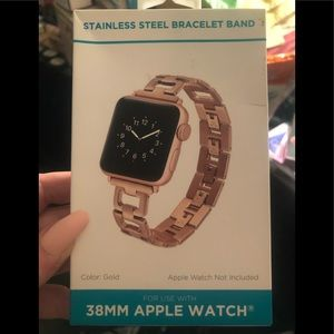 NWT Apple Watch Band Gold 38 mm